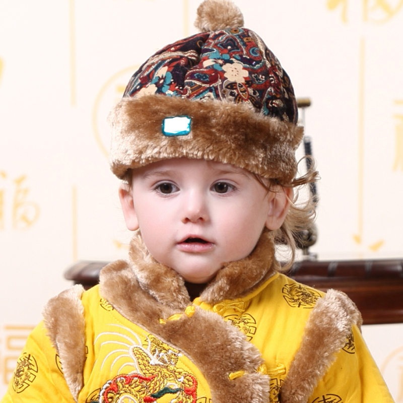 2f3f4d95d12 Get Quotations · New year new year chinese new year costume hat female baby  boy baby girl costume hat