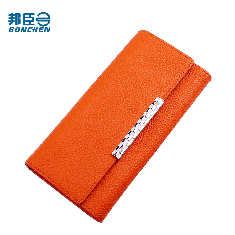 New year's gift bundchen genuine ms. miss qian bao long section of miss qian bao wallet