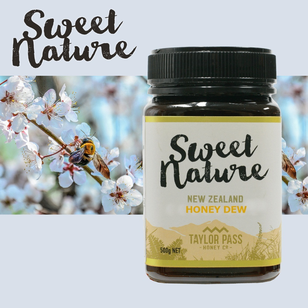 New zealand imported natural sweet honeydew honey flower sweetnature g pure mature wild honey