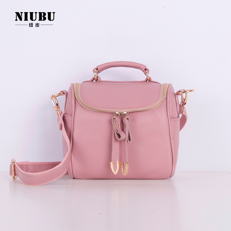 9021c99d4b Get Quotations New Zealand Step Makeup Bag Shoulder Messenger Leather  Handbags 2017 Retro Small Square