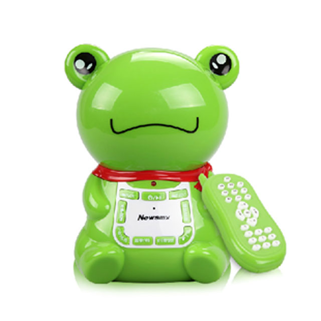 Newman early childhood music machine intelligent early childhood story machine baby infants and young children frog music rechargeable download