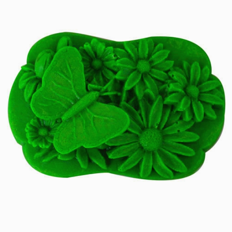 Nicole R0962 flowers handmade soap mold soap mold soap mold silicone mold baking mold