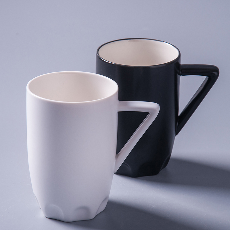 Nijs couple simple ceramic mug cup coffee cup zakka creative office water cup large capacity