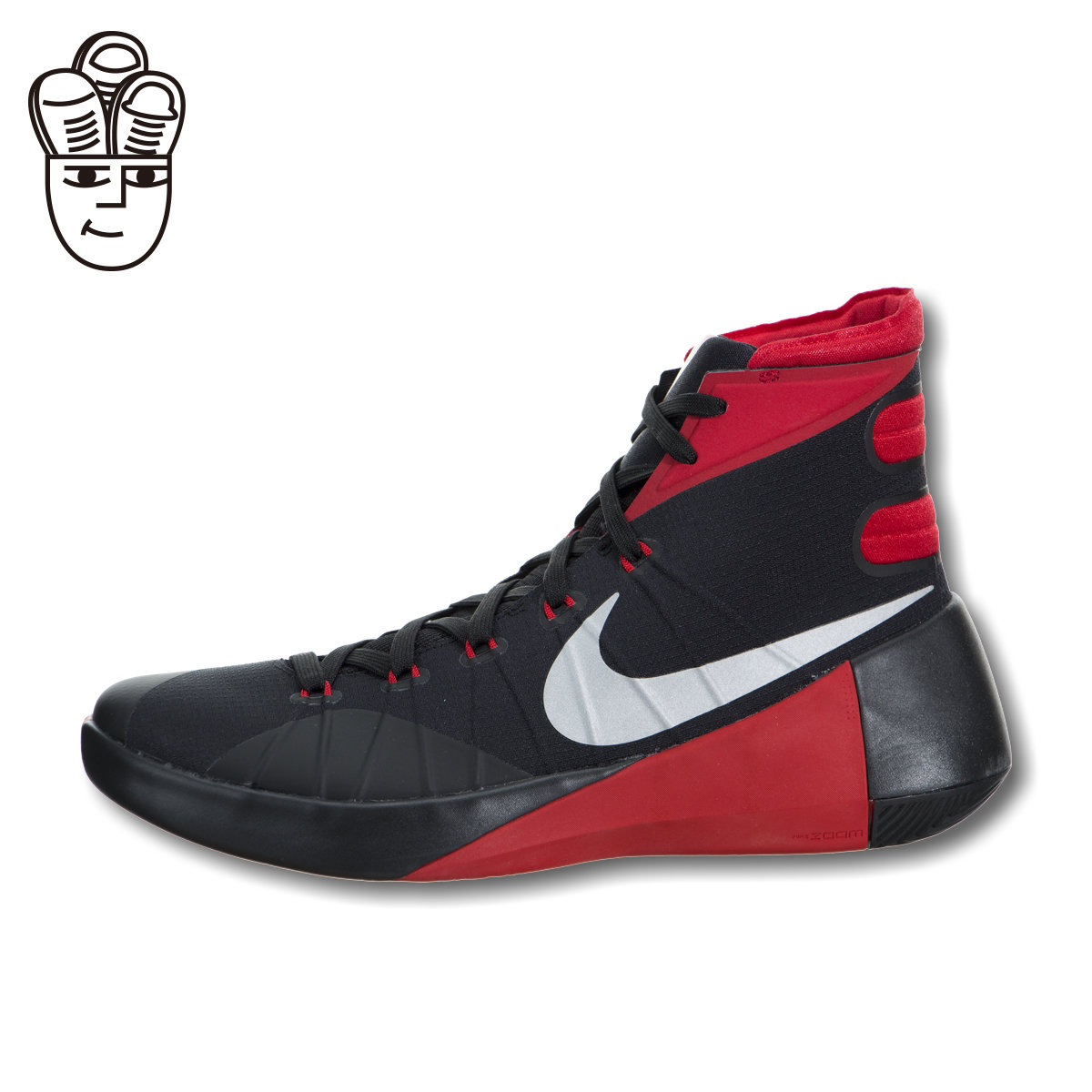 finest selection 756ca 032f8 Get Quotations · Nike hyperdunk 2015 nike men s actual basketball shoes  sports shoes black and red color