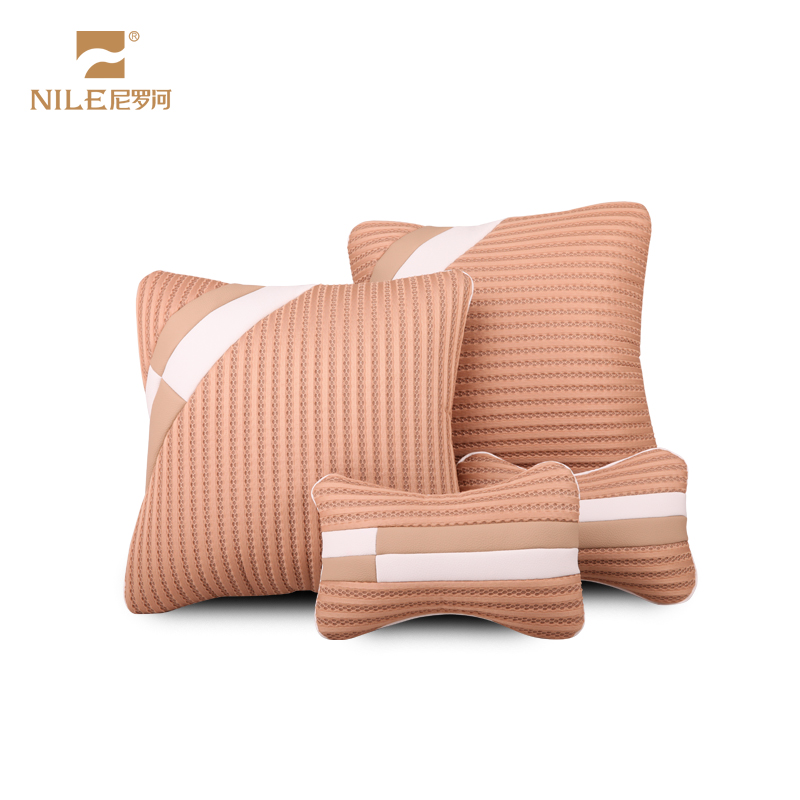 Nile car headrest neck pillow one pair of dress four seasons car headrest pillow neck pillow lumbar support a family of four