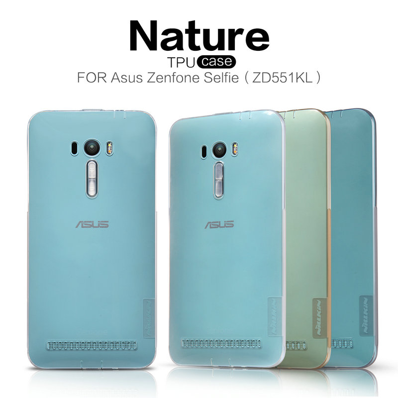 Nile gold ZD551KL selfie mobile phone sets asus zenfone mobile shell transparent soft silicone protective sleeve