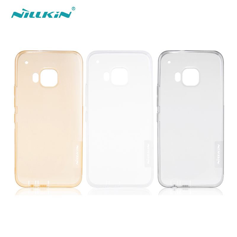 Nillkin nile gold htc one bistec bistec one m9 protective shell transparent soft cover protective sleeve silicone case