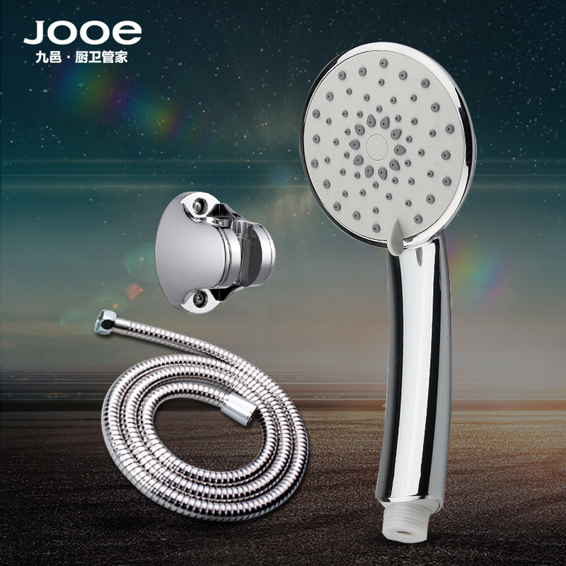 Nine yap jooe five stalls adjustable shower pressurized suit handheld shower set round