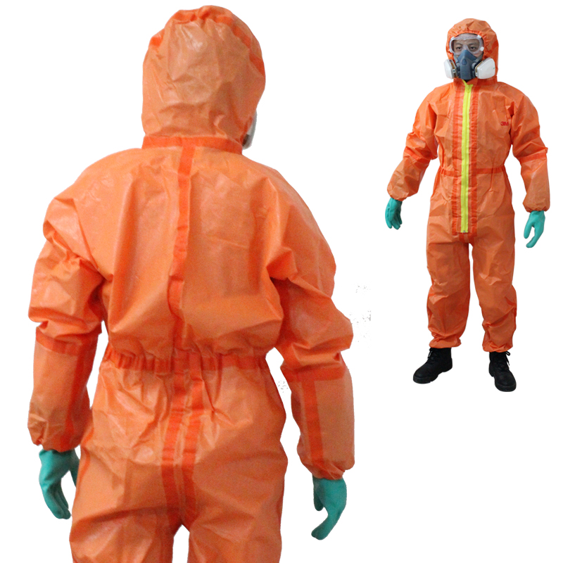 Nnav 3m4690 protective clothing isolated chemical nuclear radiation protective clothing overalls acid spray painting