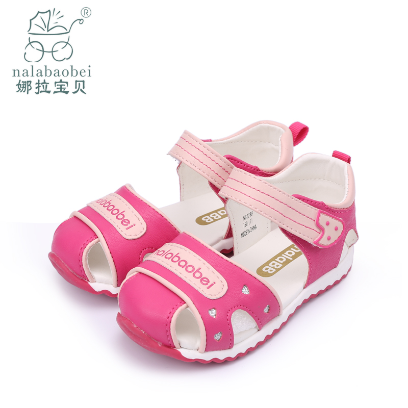 Nora baby baby baby bb slip soft bottom infant shoes function toddler shoes sandals women shoes summer paragraph baby shoes baotou