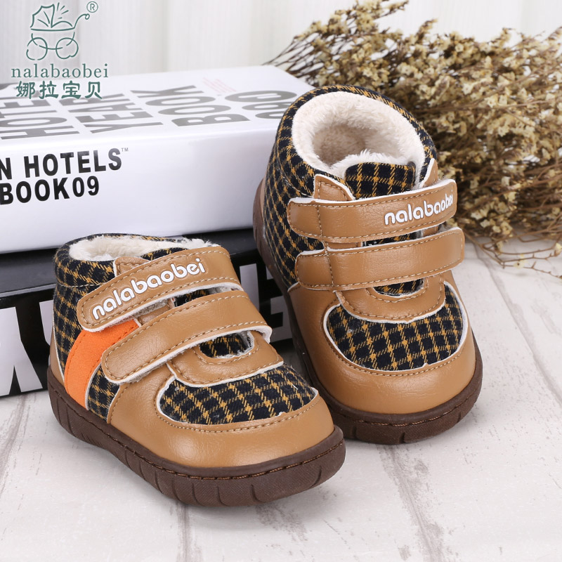 Nora baby baby baby shoes winter 1-2-year-old soft bottom baby shoes baby shoes toddler shoes baby shoes winter shoes for men and women
