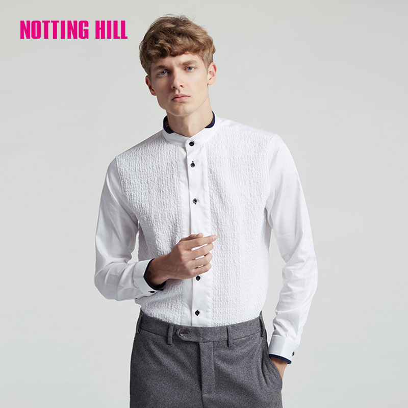 Notting hill men's autumn mens business casual shirt NC758021