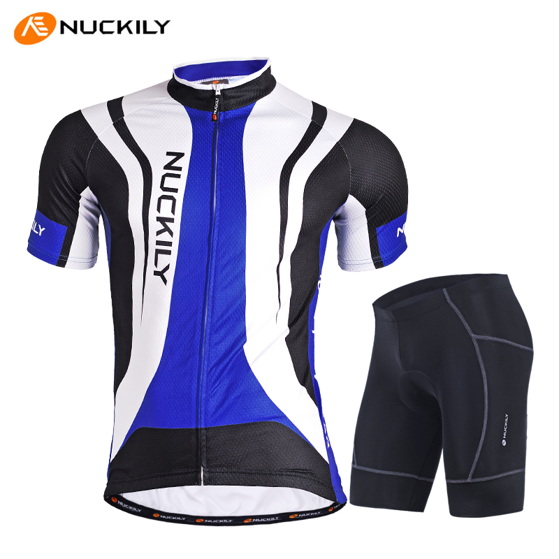 28d0b9ce0 Get Quotations · Nuckily authentic summer bike jersey short sleeve suit  outdoor road bike mountain bike equipped with