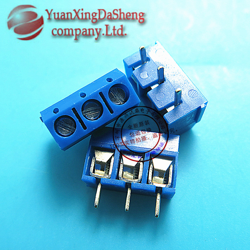 Nx | 5.08mm spacing can be spliced kf301-3p terminals pcb terminals 15a/300 v