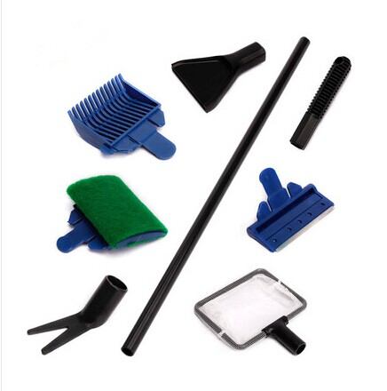 Observing cleaning kit group fishing fish tank cleaning blade network waterweeds algae scraping algae brush cylinder brush folder