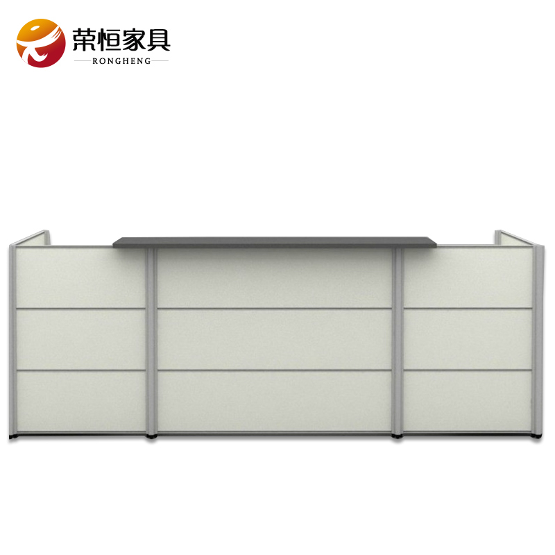Office furniture minimalist fashion plate paint reception desk paint company front office reception desk