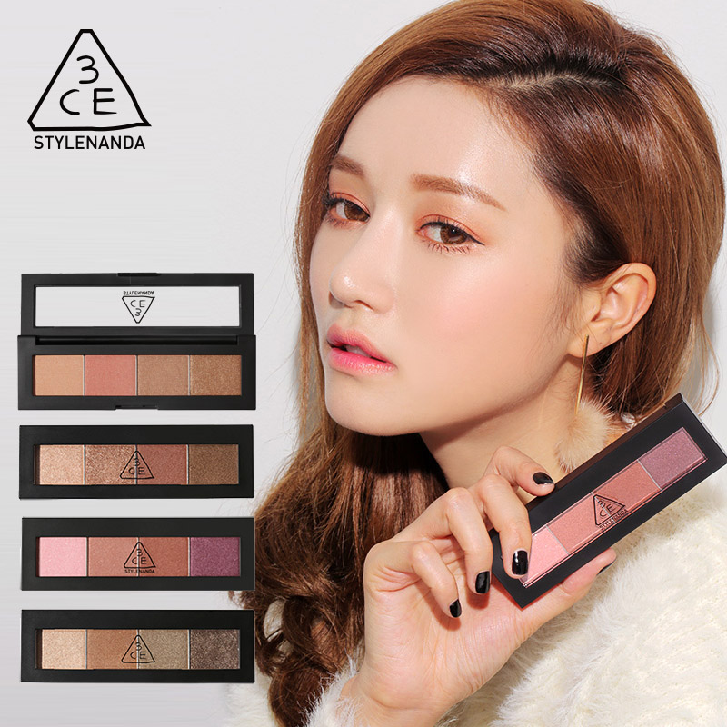 Official stylenanda 3ce eye shadow palette 4 color eye shadow soft transparent persistence