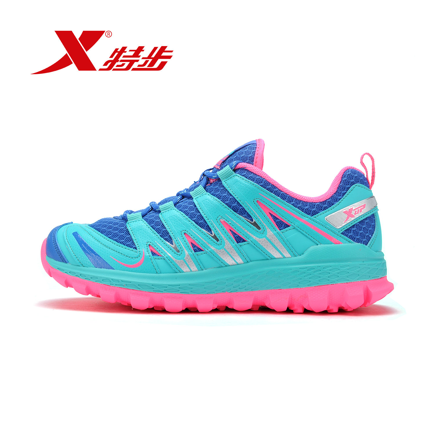 [Official] xtep shoes sneakers women 2016 autumn new breathable mesh running shoes outdoor running shoes tide