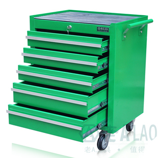 Old a layer 5 drawer tool cart trolley aftermarket car care car repair shop mobile tool cabinet tool cabinet with lock