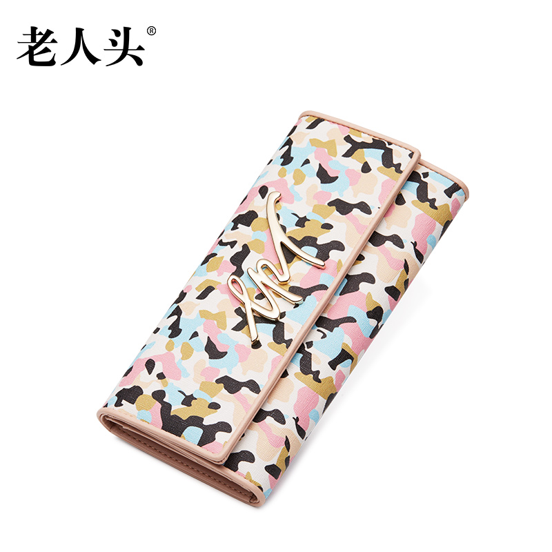 Old head 2016 new summer long section of pvc wallet card bit more wallet female fashion japan and south korea takou purse female