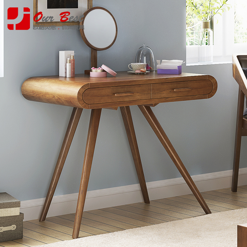 Olger beth nordic ash wood dresser modern minimalist dresser dressing table with drawers