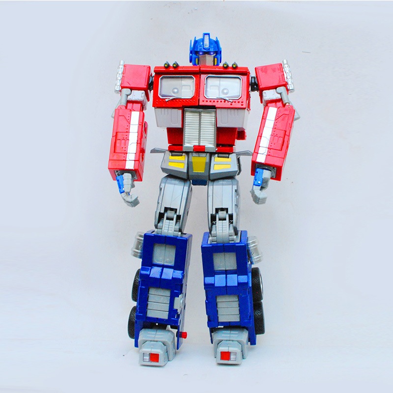Olivia transformers bumblebee transformers optimus prime robot alloy metal model car toys for children who rm01