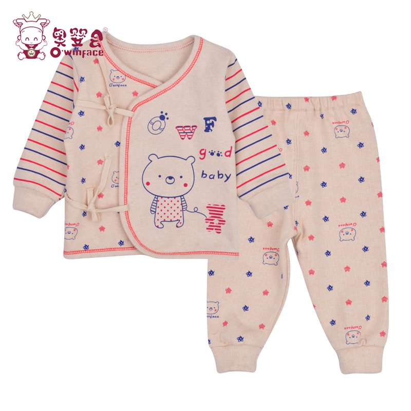 Olympic infant baby underwear suit newborn baby clothes 0--3 months baby spring fall and winter season cotton lace underwear