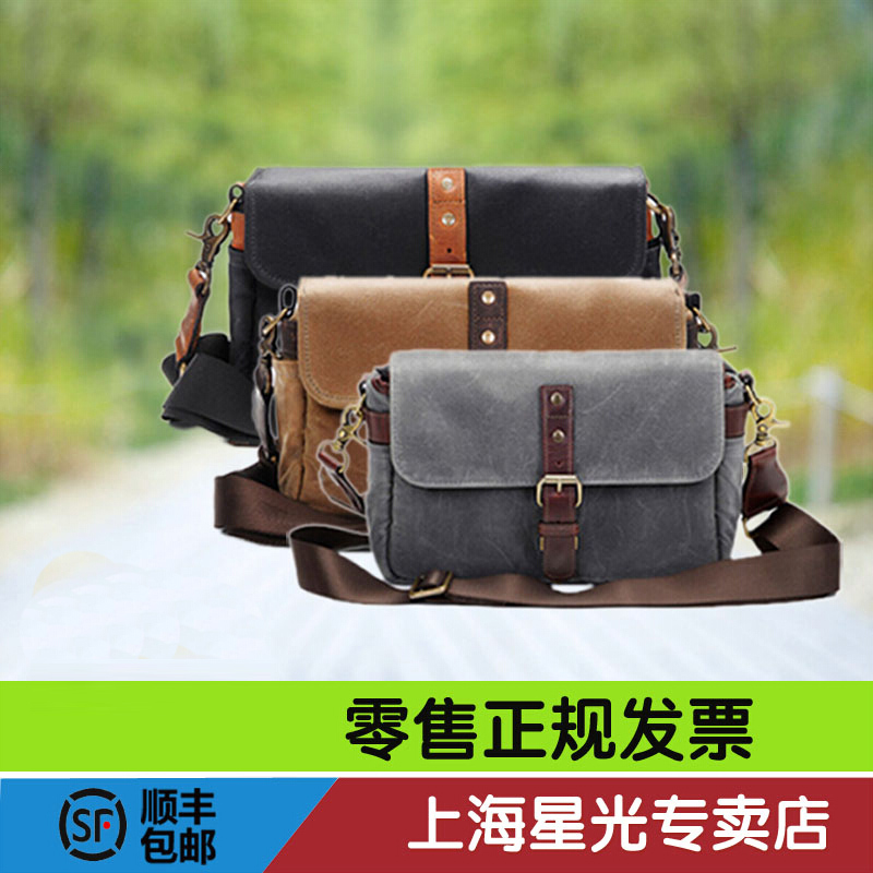 Ona the bowery retro canvas camera bag micro single camera bag shoulder camera bag leica