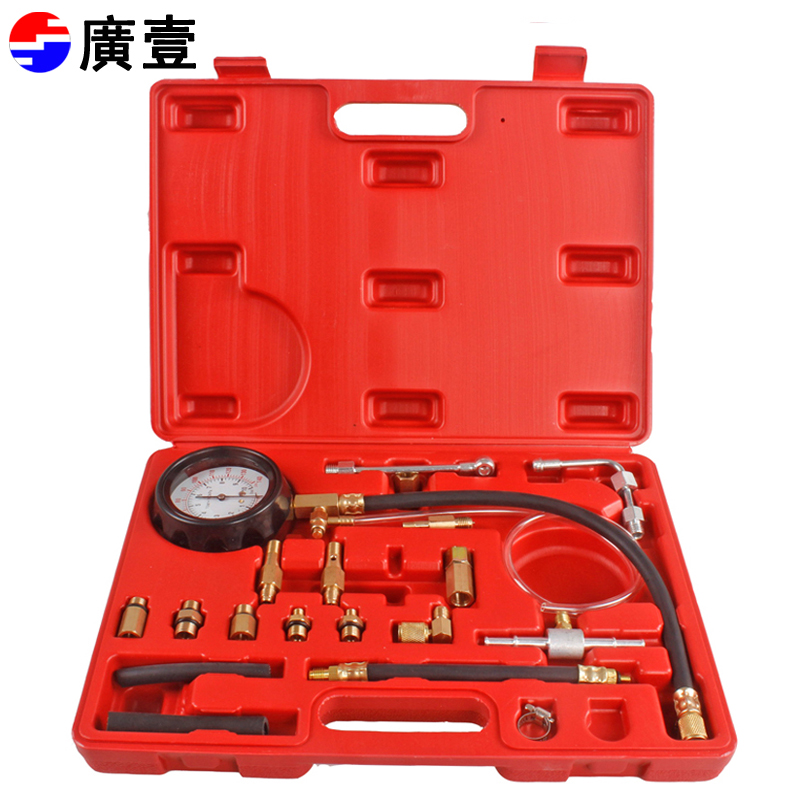 One tool wide automotive fuel efi fuel injection pressure gauge oil pressure gauge tu-114 automotive instrumentation