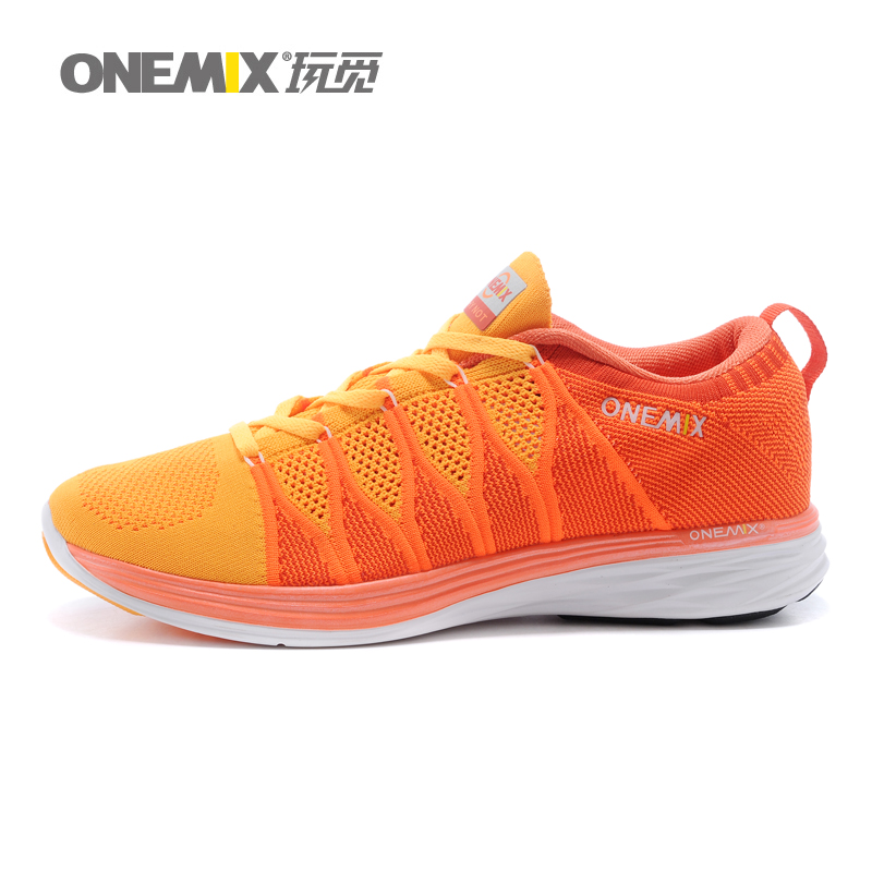 Onemix seek to play a woven sports shoes men spring and summer men's running shoes jogging shoes running shoes breathable spring