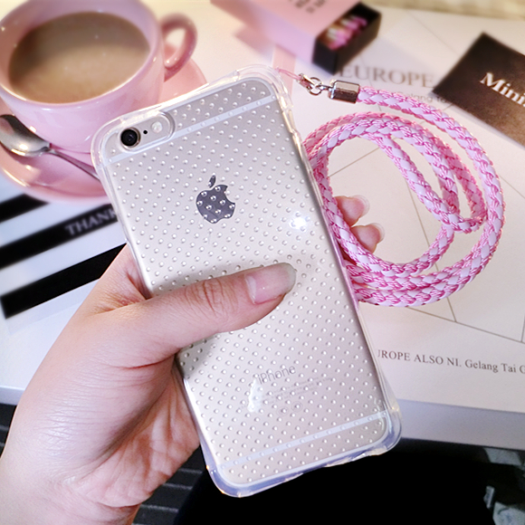 Oppo phone shell oppo r9 a33 A53tm R9TM popular brands of mobile phone sets of silicone korea w/t/f lanyard Neck