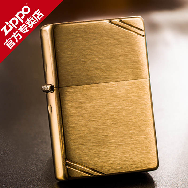 Original genuine zippo lighter brushed copper engraved classical cutaway 240 counter genuine 1937