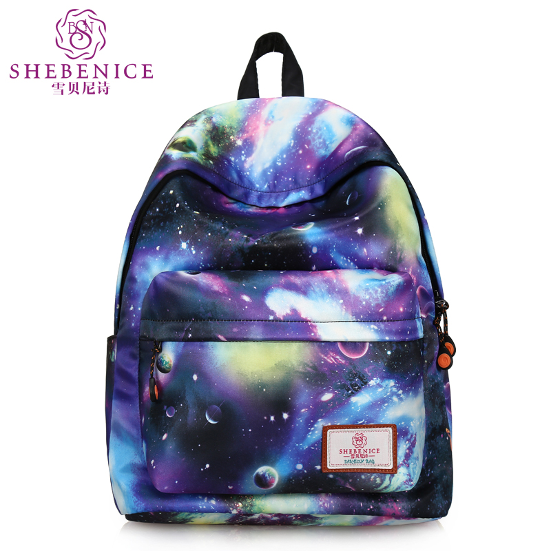 de049a3f7c Original universe fashion casual canvas backpack travel bag influx of  female high school students computer bag