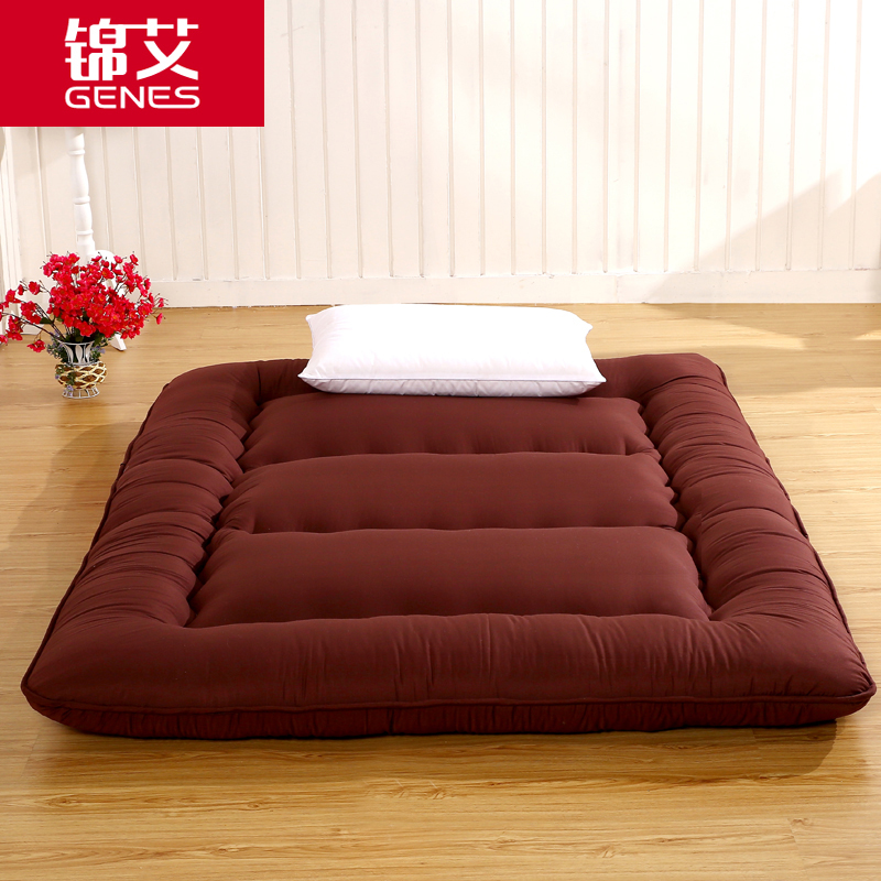 Ortega thick tatami mattress mattress son jin ai 10cm soft mattress folding single or double student hostel homes