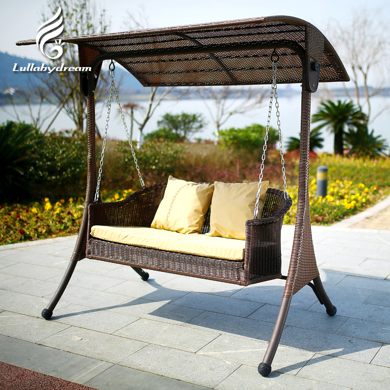 Outdoor patio wicker chair rocking chair swing hanging basket chair swing chair balcony casual wicker chair swing hanging chair hanging chair