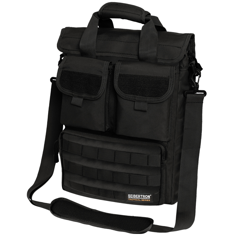 Outdoor tactical shoulder bag leisure and business travel bag 15 inch computer bag laptop messenger bag molle men and women