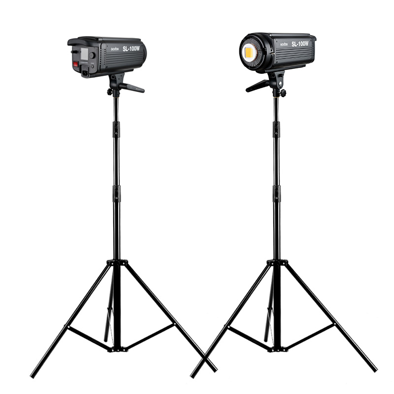 Oxen SL-100W photography lights led fill light fill light sun lamp lights micro film camera video camera two light kit