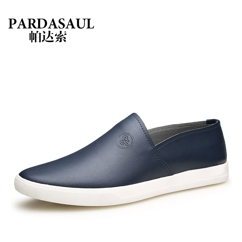 Pa dasuo spring models microfiber leather casual shoes of england sets foot men's casual shoes tide shoes [clearance]