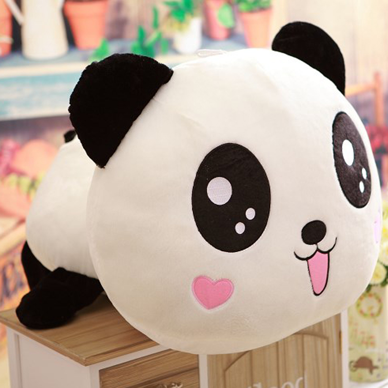 Merveilleux ... Chair 10 Mins · Panda Doll Pillow Queen Papa Bear Plush Toy Bear Hug  Doll Play Couple Valentines Day Gifts