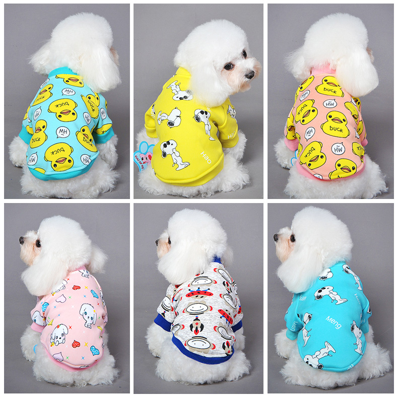 Paragraph fun pet dog clothes dog clothes teddy vip pet clothing feet fall and winter clothes sweater free shipping