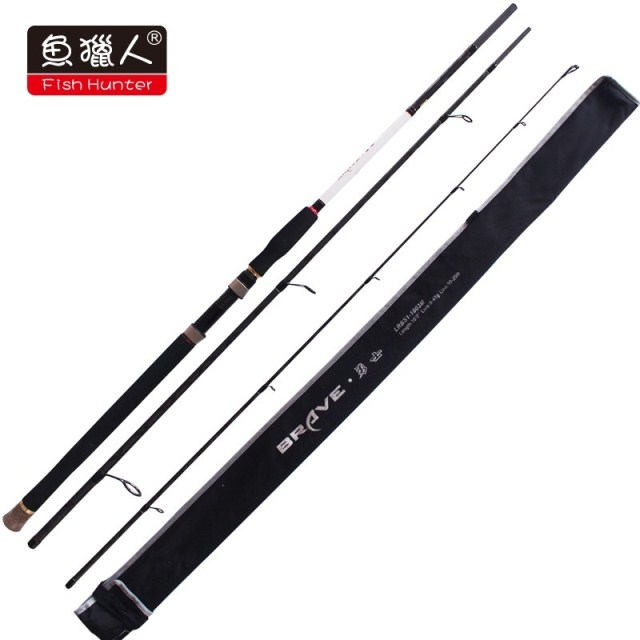 Part shipping fish hunter blood warriors LRBS1-3M/road sub rod 3.3 m straight shank m tune seabass fish fishing gear
