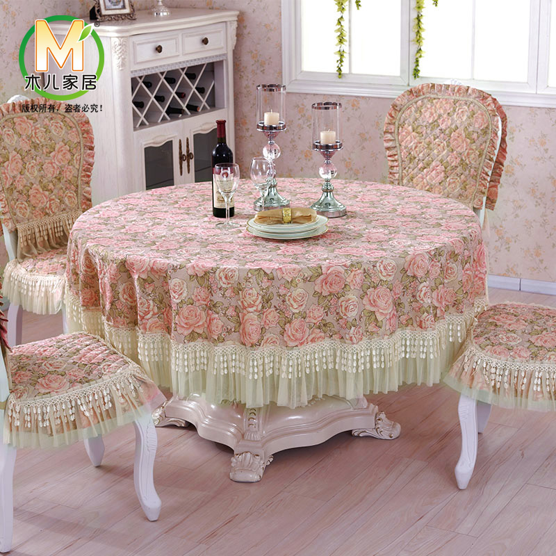 Pastoral Cloth Tablecloths Tablecloth Round Home Living Room Coffee Table  Restaurant Table Cloth Tablecloths Pastoral Fashion