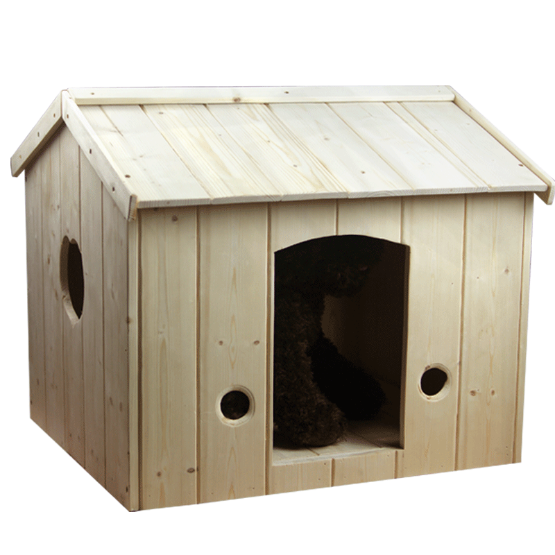 Pat girl pet solid wood dog house dog house teddy small dog kennel cat litter pet house pet house dog kennel