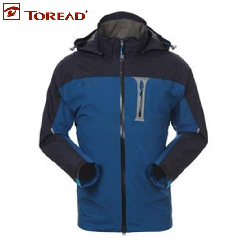 Pathfinder spring and summer outdoor men's single gore tex waterproof windbreaker mountaineering jackets tarb81003