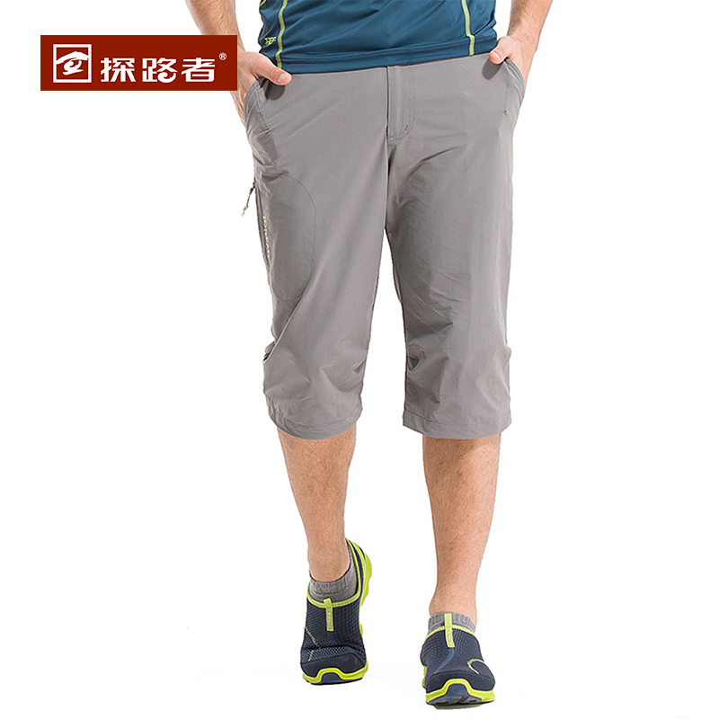 Pathfinder trousers 2015 spring and summer new men's hiking pants five pants short pants wicking tamd81268