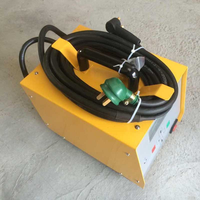 Pe pipe butt welding machine pipe steel mesh skeleton fused welder 2kw tube type pe fused fused welder