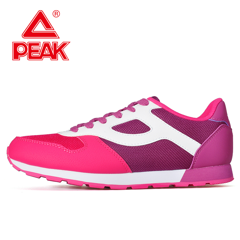 Peak/olympic 2016 female models fashion wild breathable comfort casual wear and sports shoes slip RE53 548E
