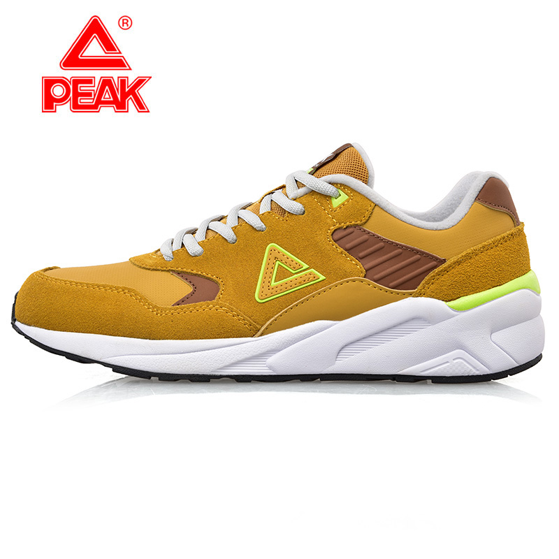 Peak/olympic sports shoes men running shoes 2015 new retro shoes slip resistant men's casual shoes to help