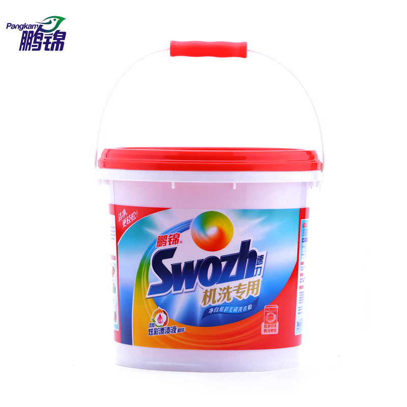Peng jin speed power whitening concentrated detergent phosphorus 4kg barrels of clean and supple bright detergent washing machine dedicated