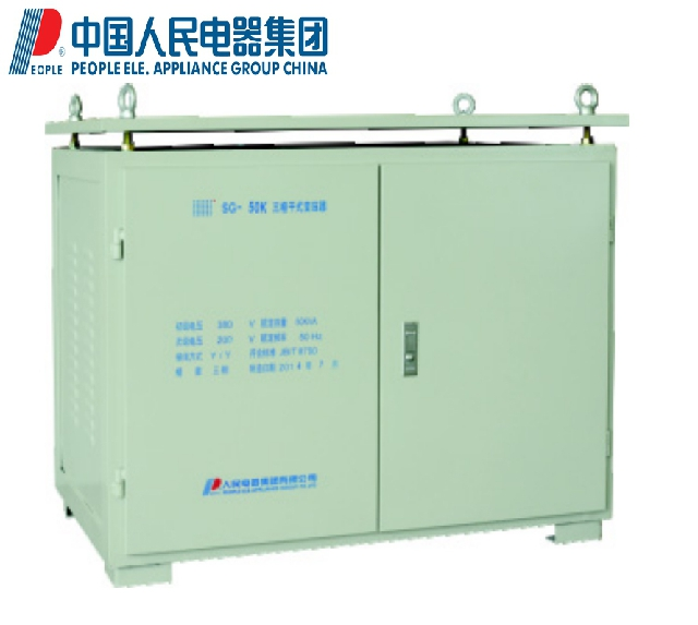 People people electric three-phase SG-60KVA dry type transformer 380/220 200 with steel